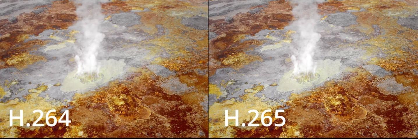 Kodek H.265 pro vyšší kvalitu obrazu