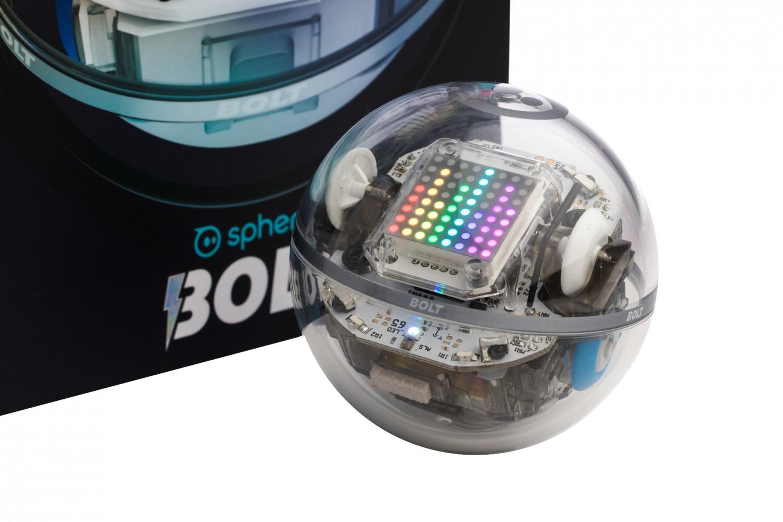Predstavenie robotickej gule Sphero BOLT