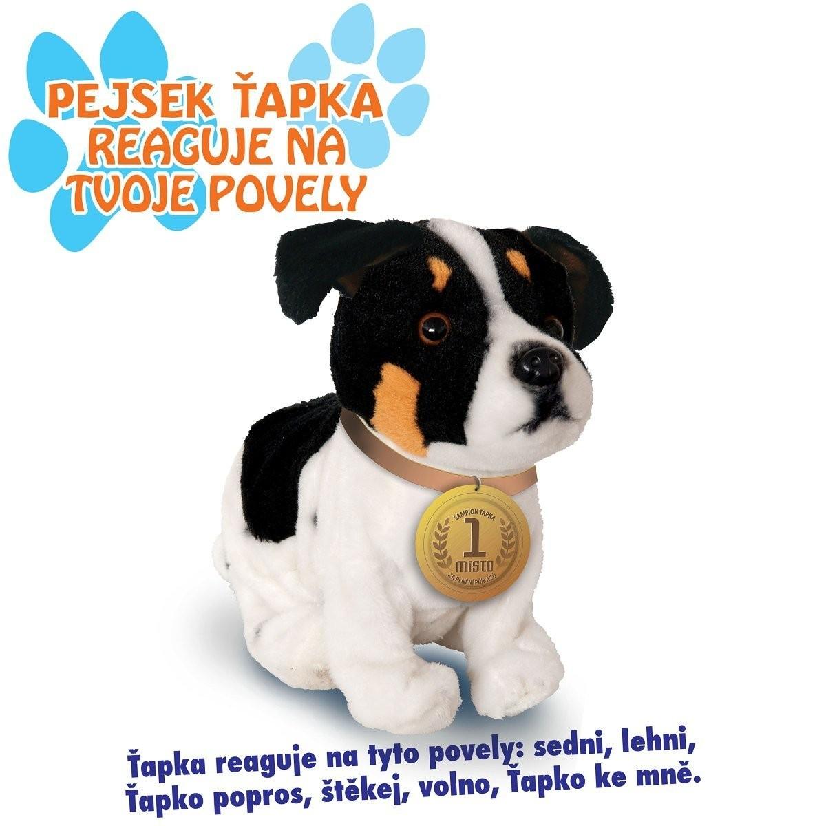 Predstavenie interaktívneho plyšového psíka - Jack Russel teriéra