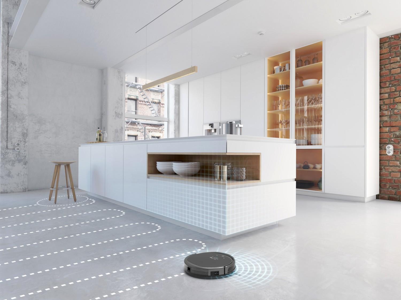 Inteligentná Smart GYRO navigácia - robot sa nestratí