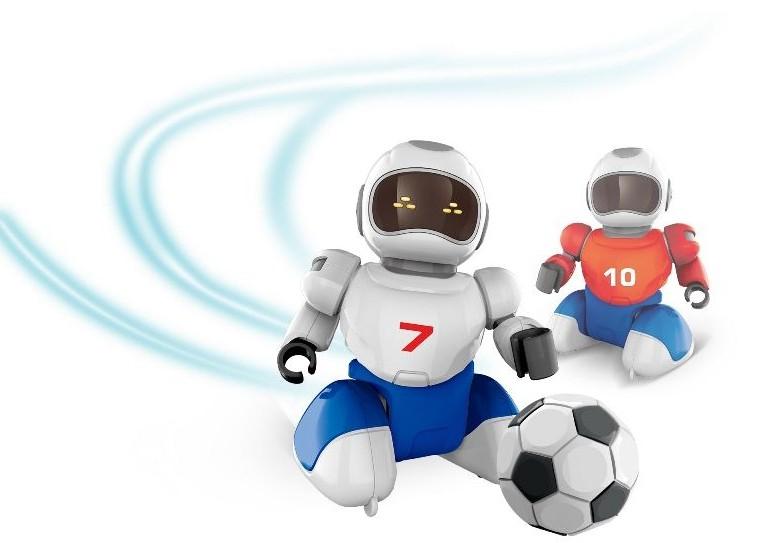 Predstavenie robotickej hračky Robofutbal