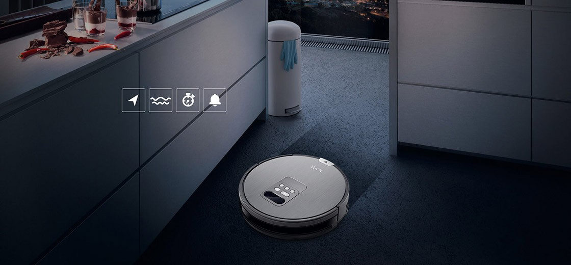 Predstavenie robotického vysávača iLife V80