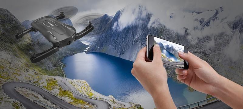 Prepojenie kamery s mobilným telefónom pomocou aplikácie SYMA FPV