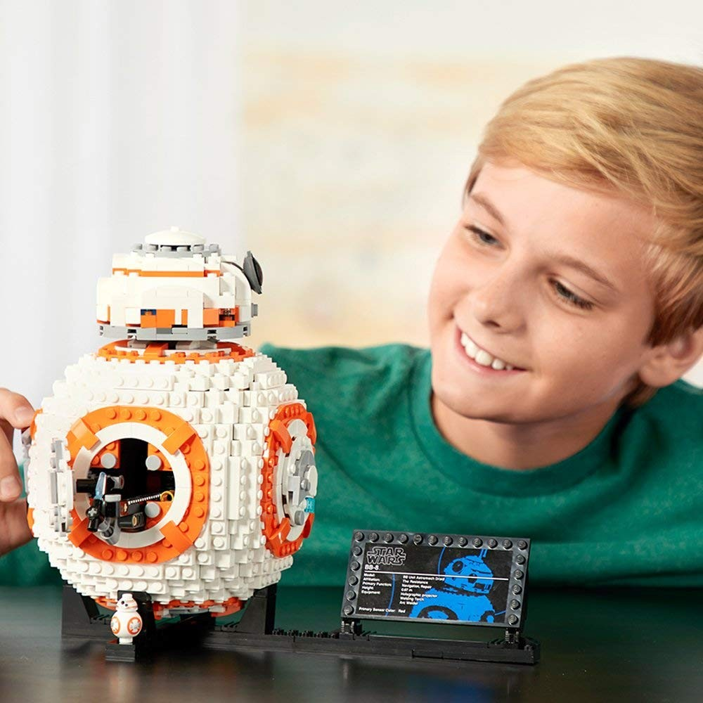 Predstavenie stavebnice LEGO Star Wars 75187 BB-8