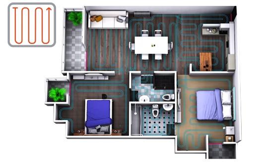 Multi-izbové systematické upratovanie
