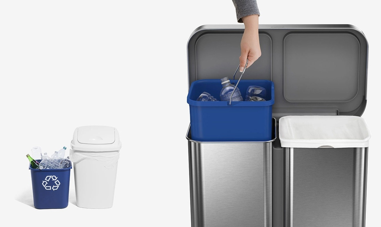 Recyklujte ako profík, za použitia dvoch kontajnerov