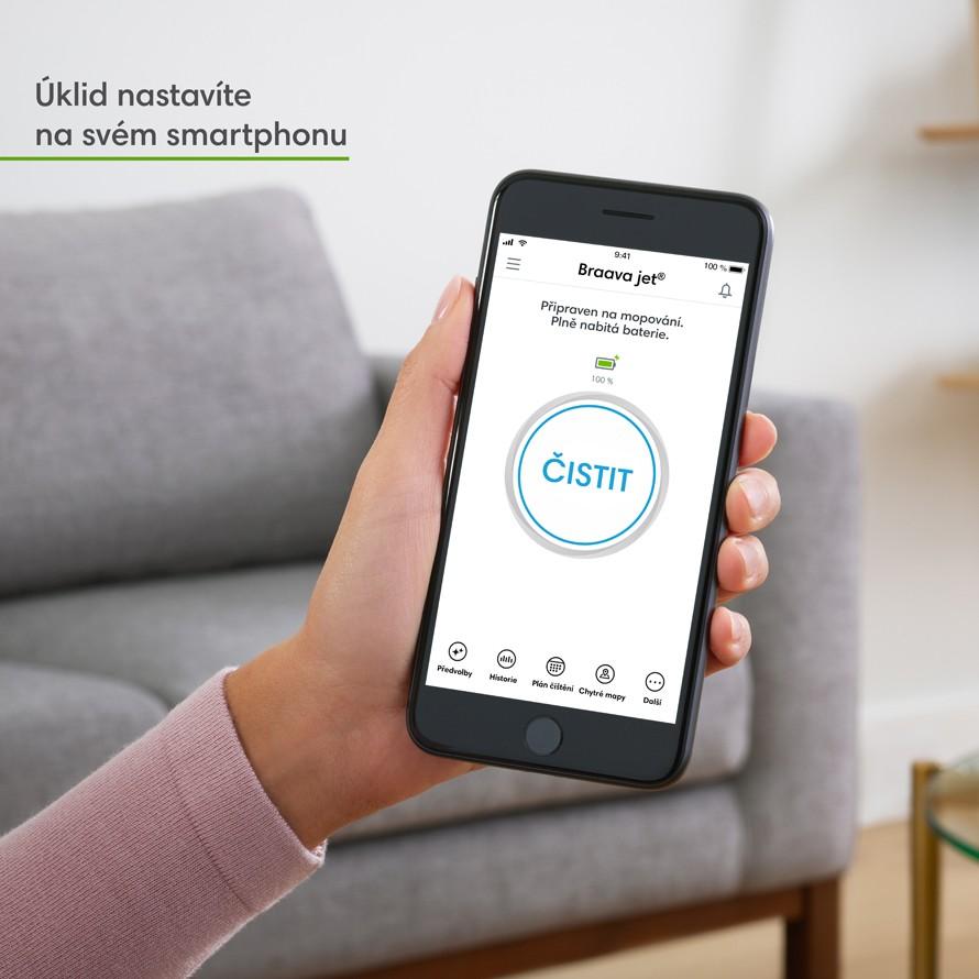 Aplikácia iRobot HOME
