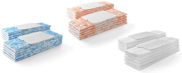Jednorazové čistiace podložky