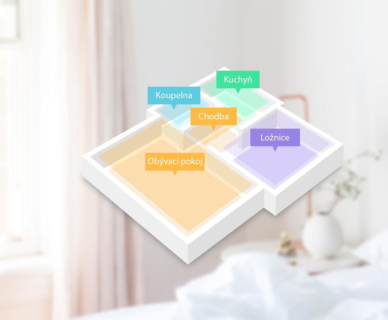 Inteligentné mapovanie miestností