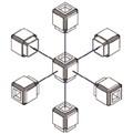 6-stranné spojovacie bloky