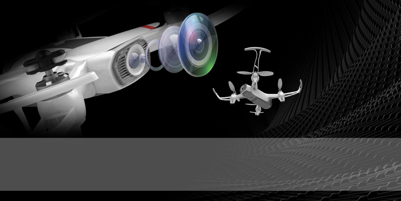 Dron s duálnym kamerovým systémom a GPS modulom