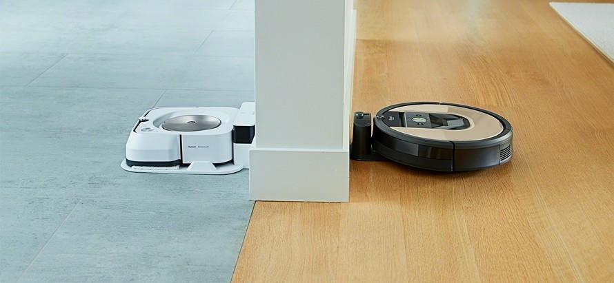 Komunikácia s robotickým mopom iRobot Braava m6