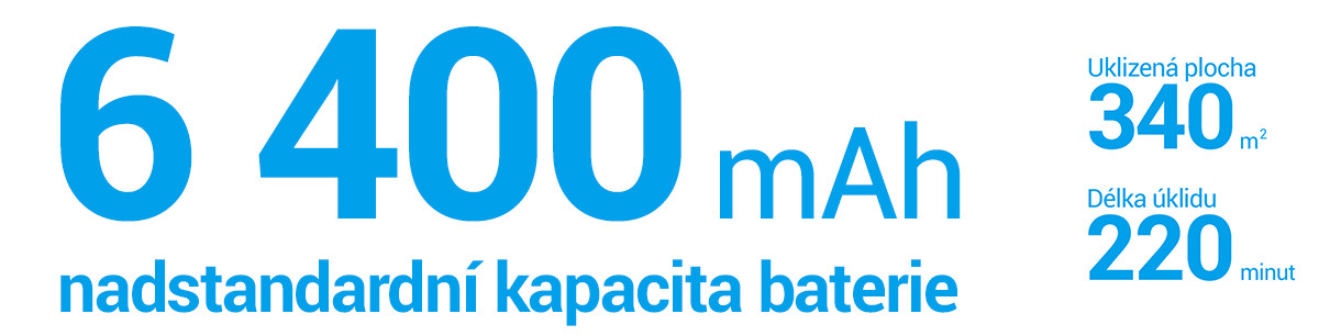 Nadštandardná kapacita batérie