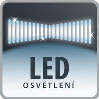 Hubica s LED osvetlením