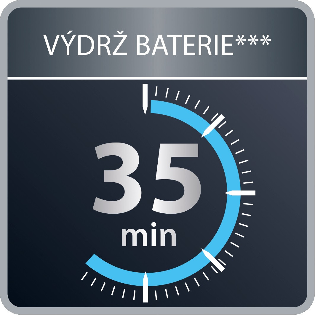 Výkonná batéria