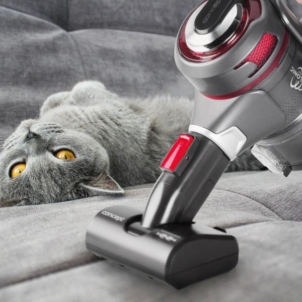 Motorizovaná PET turbokefa - špecialista na chlpy
