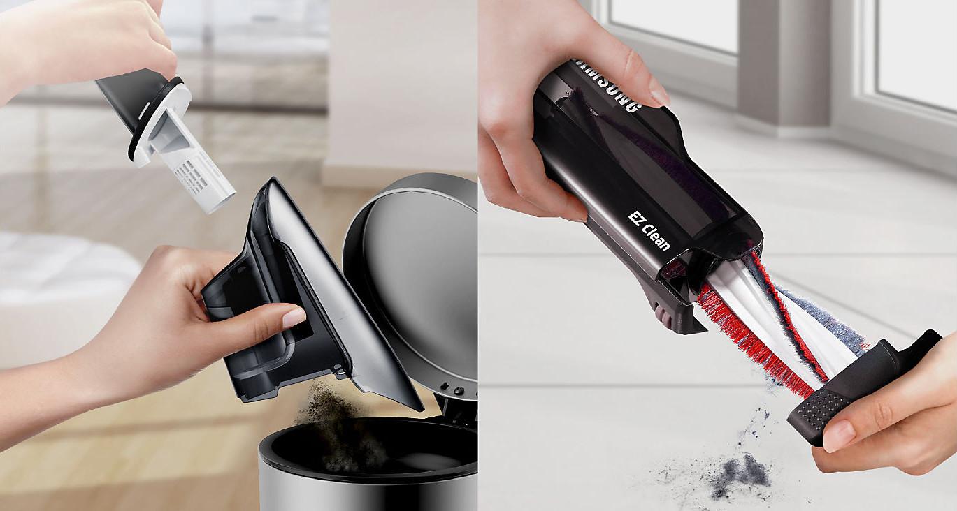 Dôkladné a jednoduché vysávanie zamotaných vlasov
