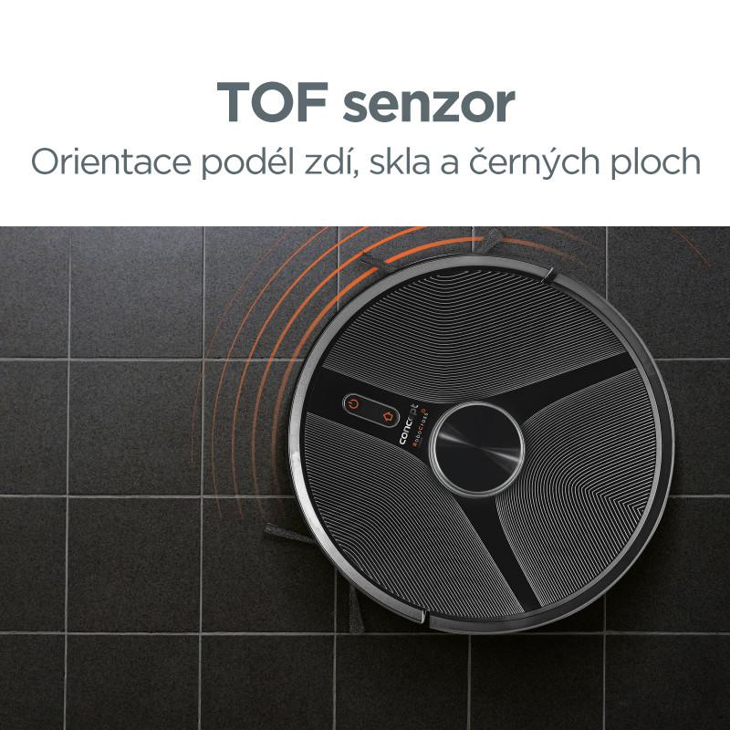 TOF senzor - dokonalá orientácia