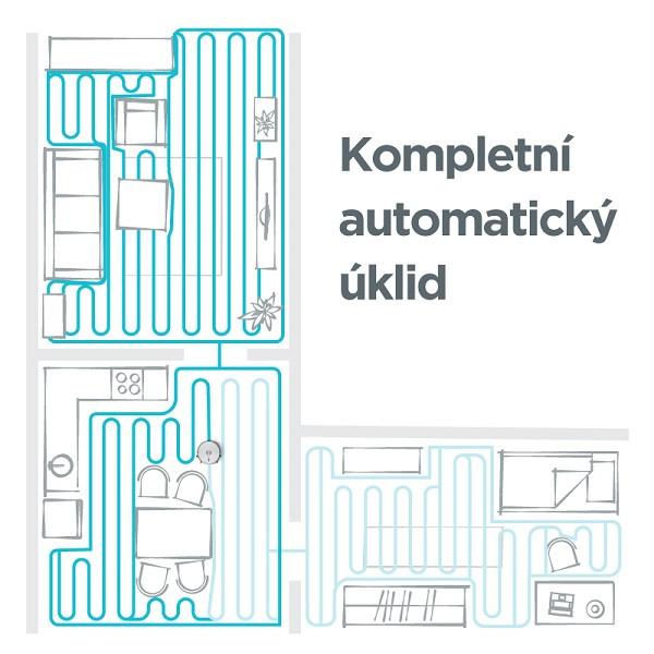 Kompletné automatické upratovanie