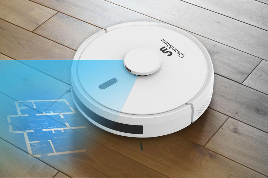 Robotický vysávač s presnou laserovou navigáciou