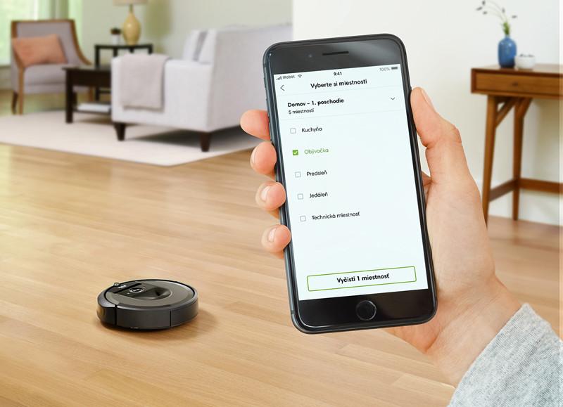 Rozšírená aplikácia iRobot HOME s inteligentnými mapami
