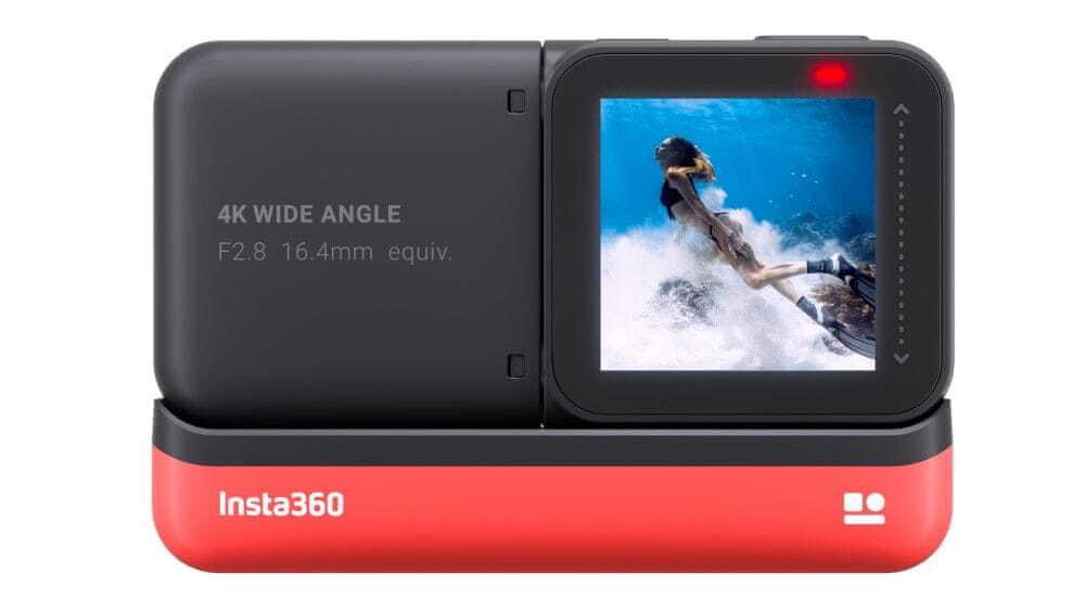 Insta360 ONE R (4K Edition) je intuitívna
