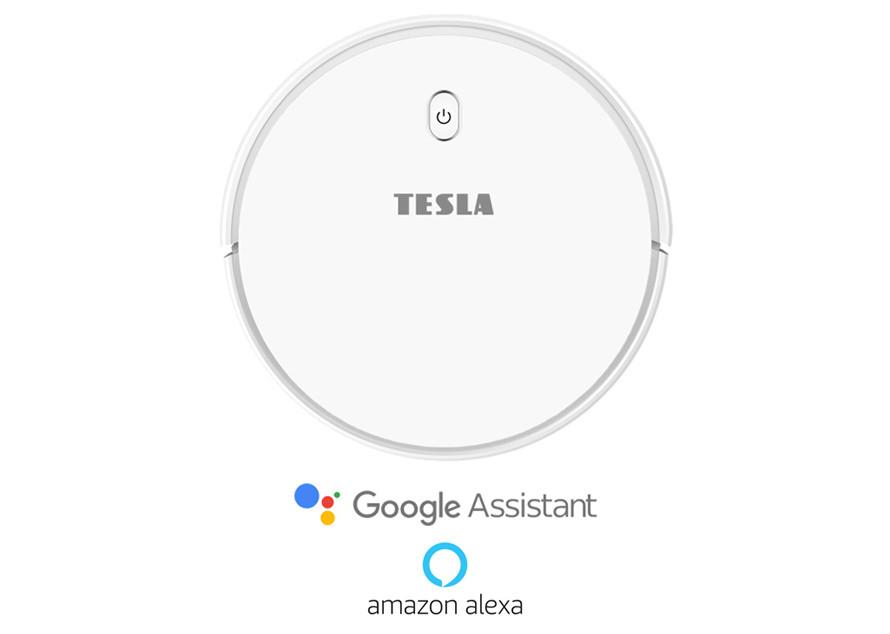 Inteligentné upratovanie s podporou Google Assistant/Amazon Alexa