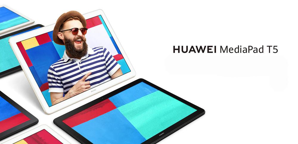 Predstavenie tabletu Huawei MediaPad T5 WiFi