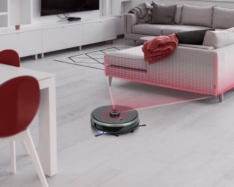 Predstavenie robotického vysávača Concept VR3210 3v1