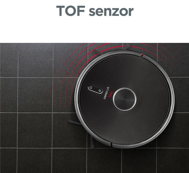 TOF senzor – dokonalá orientácia