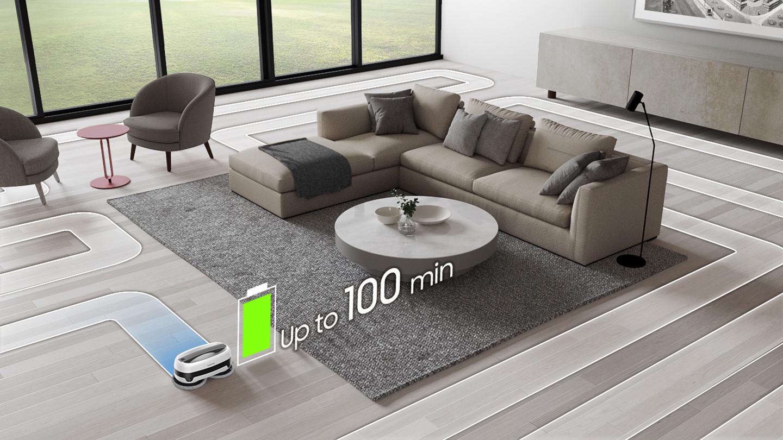 Predstavenie robotického mopu Samsung VR20T6001MW/GE