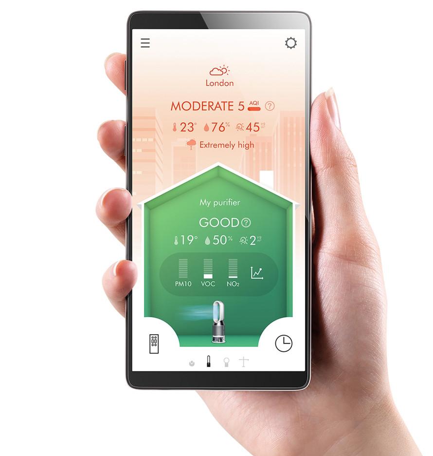 Mobilná aplikácia Dyson Link
