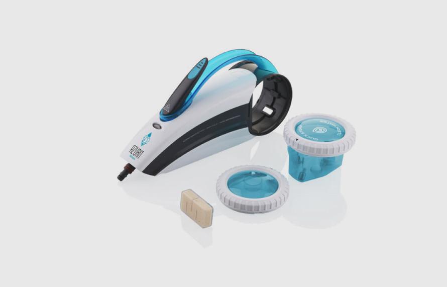 Parný čistič do 30 sekúnd s výdržou až 15 minút
