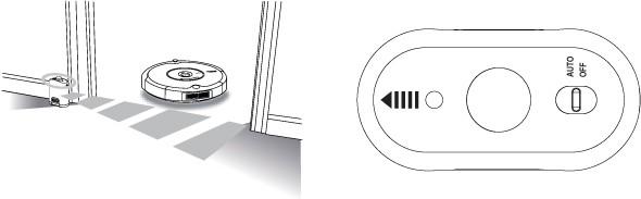 Jak automatická virtuální zeď funguje?