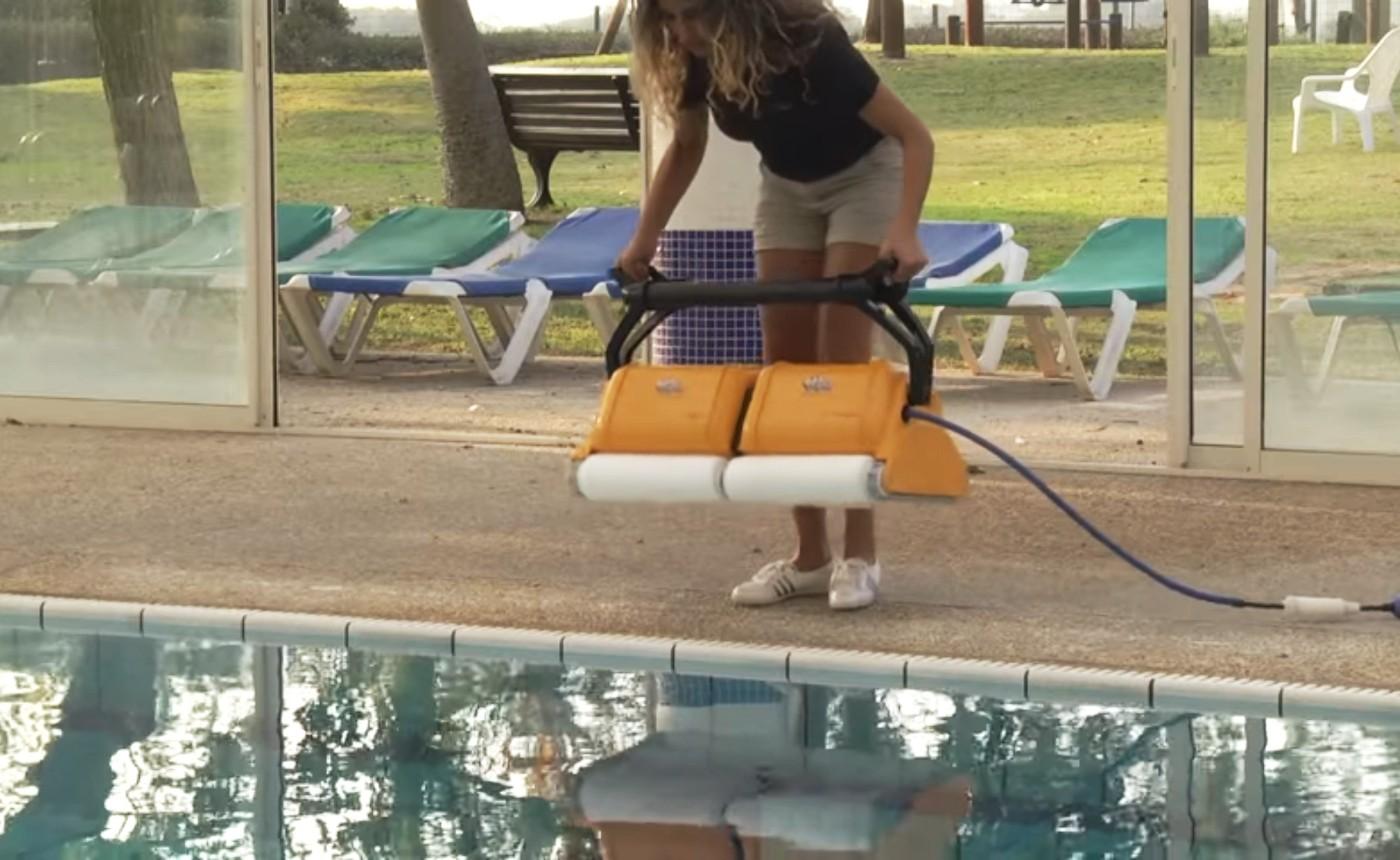 Spôsoby čistenie u robotického bazénového vysávača Dolphin 2x2 PRO GYRO